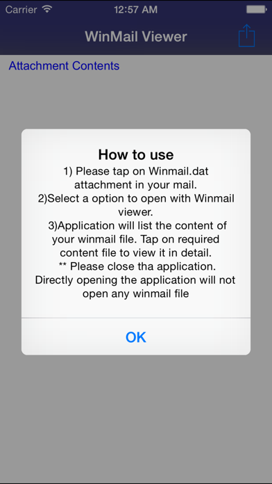WinMail.dat Viewer for OS 10 screenshot one