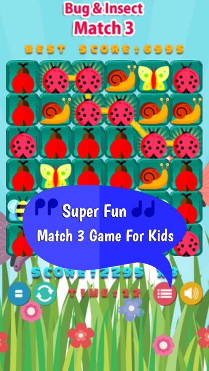 Bugs And Insects Match3 Blast Games