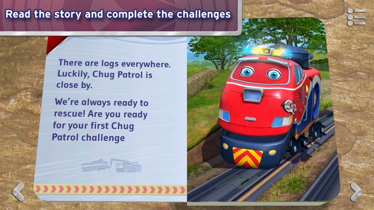 Chug Patrol: Ready to Rescue - Chuggington Book
