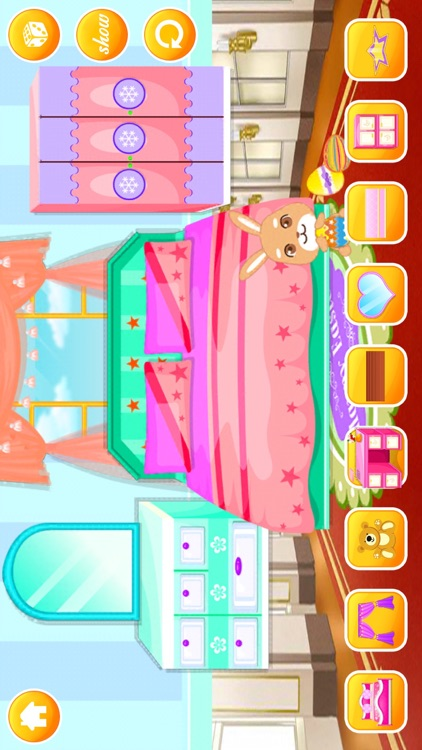 Real Princess Doll House Decoration game™ screenshot-3