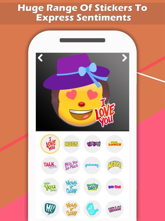 Emoji Maker - Create Personal Chat Emojis,Smiley | App Price