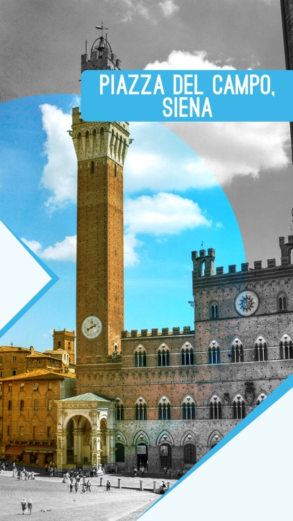 Piazza Del Campo, Siena screenshot-0