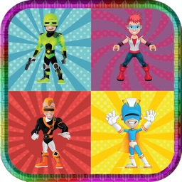 Super Hero Matching Game