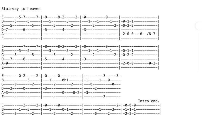 Achording - Guitar Tabs and Chords Screenshot