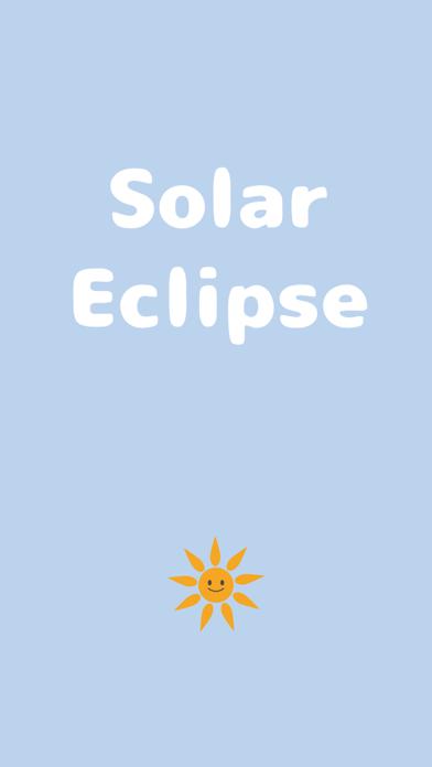 Solar Eclipse Cute Sun Emoji screenshot one