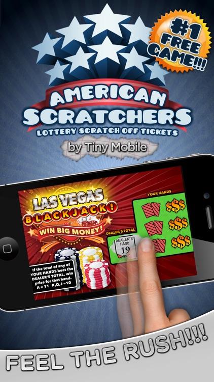 American Scratchers Lottery Scratch Off Tickets screenshot-0
