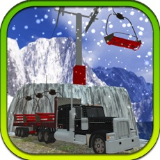 Activities of Uphill Chairlift Transporter Truck