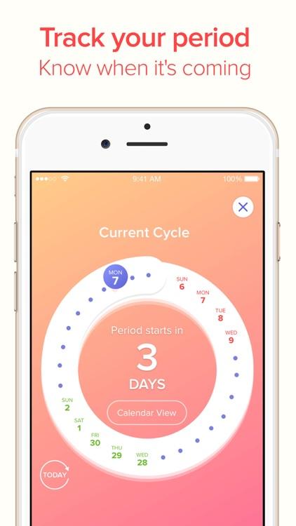 Eve Period Tracker: Menstrual Calendar, Sex Tips app image