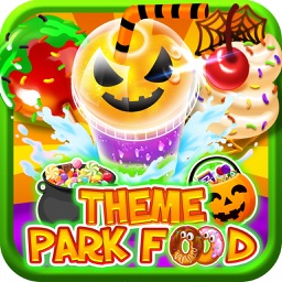 Halloween Theme Park Fair Food Maker Dessert Chef
