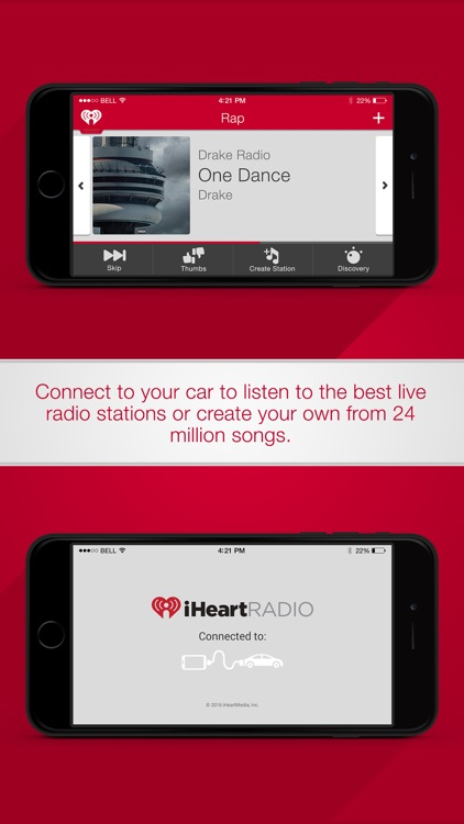 iHeartRadio for Auto screenshot-0