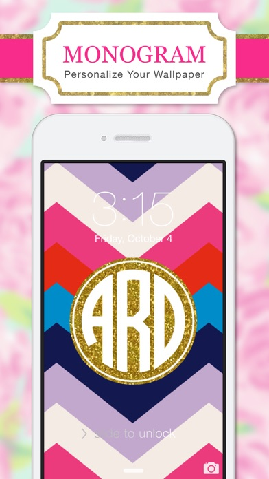 Monogram Wallpapers Lite by Yellow Lab, Inc. (iOS, United States) - SearchMan App Data & Information