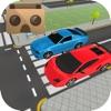 VR Real Traffic Road Crossing For Virtual Glasses