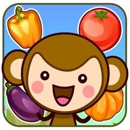 皮皮猴认蔬菜 - 儿童早教益智游戏