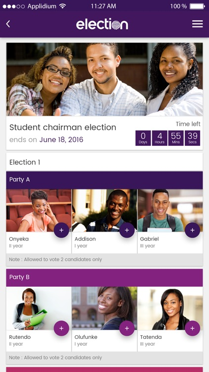 Election App screenshot-0