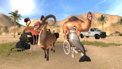 Screenshot for Goat Simulator PAYDAY in United States App Store