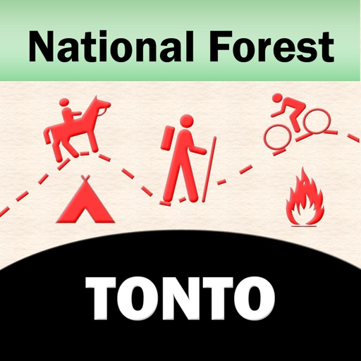 Tonto National Forest – GPS Offline Map Navigator