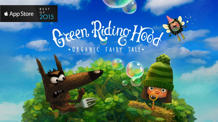 Green Riding Hood: Read Aloud screenshot-0