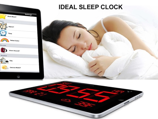 Screenshot #5 for iDigital Big2 Alarm Clock - Biggest Time Display