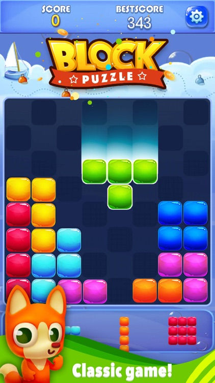 Candy Block Puzzle Blitz screenshot-3