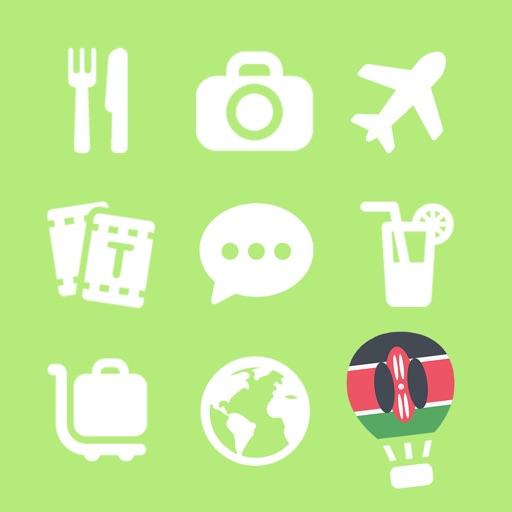 LETS Travel Kenya! Speak Swahili Phrase Guide Book