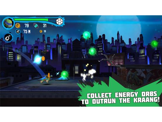 Teenage Mutant Ninja Turtles: Rooftop Run - Screenshot 4