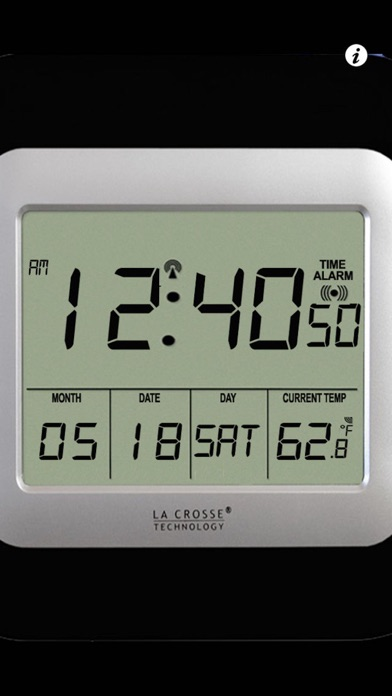 Screenshot #5 for iDigital Desk Clock - Clean, Clear To the Point