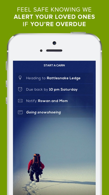 Cairn – Hiking Trails, Topo Maps & Safety Alerts