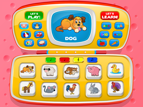 Baby learning: Toddler games for 1 2 3 4 year olds screenshot 8