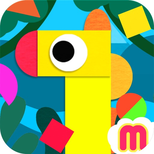 Crea World Animal –  create and play – creative art studio for kids with cute jungle and forest animals