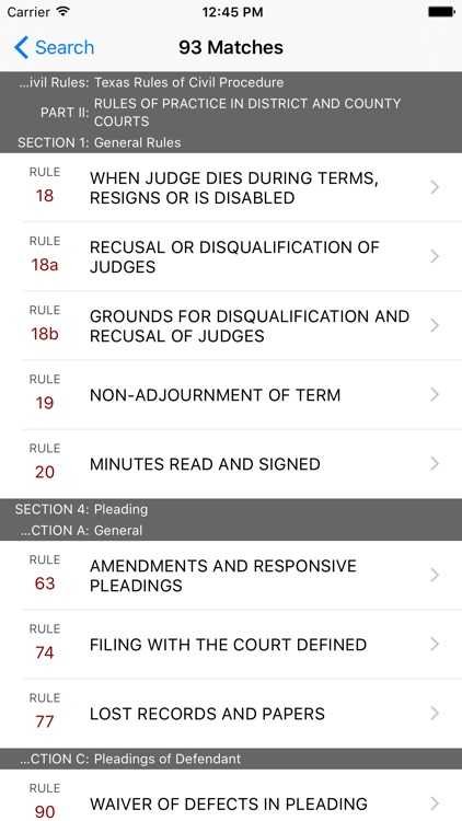Texas Rules of Civil Procedure (LawStack's TX Law) screenshot-4