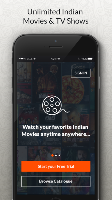 YuppFlix - Movies & TV Shows screenshot one