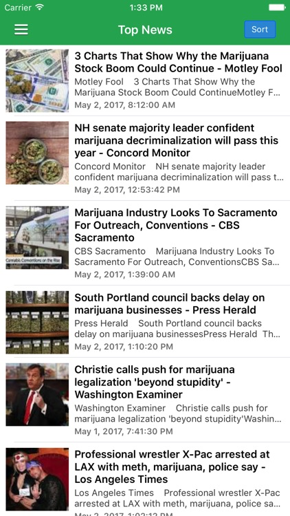 Marijuana News screenshot-0
