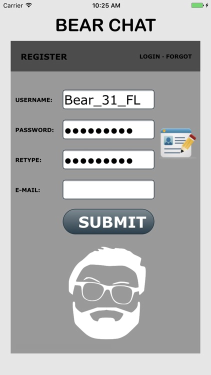 Bear Chat - Gay bears dating app.