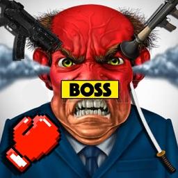 Kill The Bad Stickman Boss 2 (ragdoll physics)