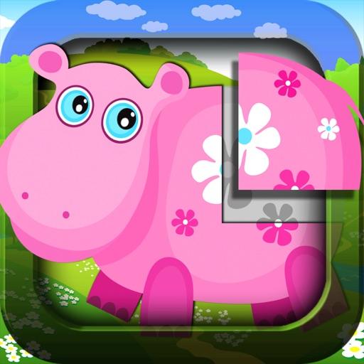 головоломка: животные для детей