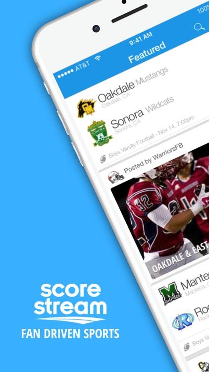 ScoreStream Sports Scores screenshot-0