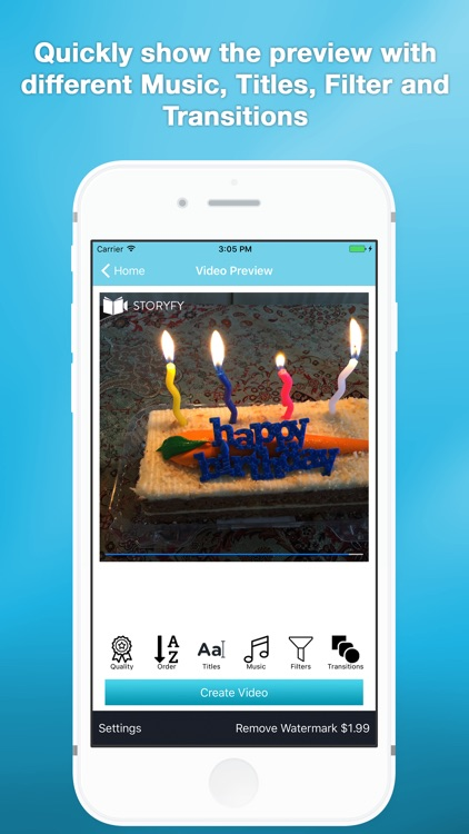 Slideshow maker- music & caption: Storyfy Pro