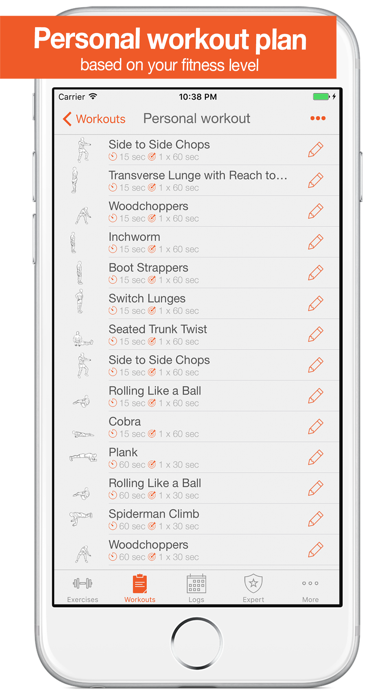 Fitness Point. screenshot two