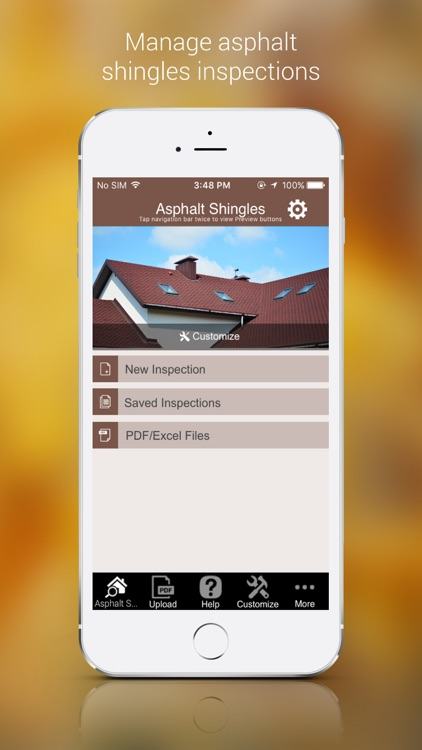 Asphalt Shingles Inspection App