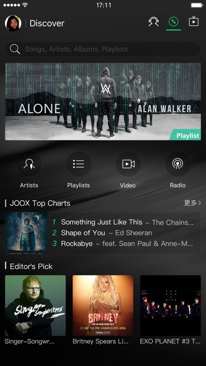 JOOX Music screenshot-0
