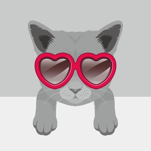 Russian Blue Moji - Emoji & Stickers