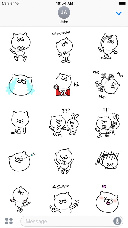 Pretty Cat Sticker 3