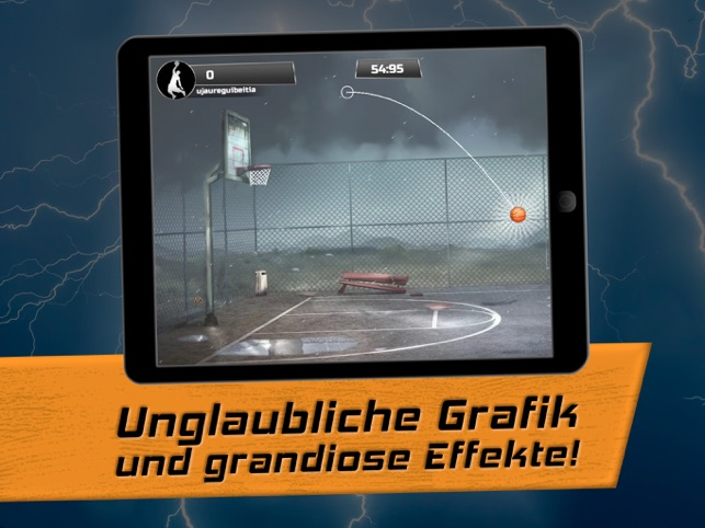 iBasket Pro- Street Basketball Screenshot