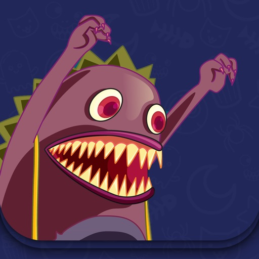 Monster and Cat - Interactive story Play Book game icon