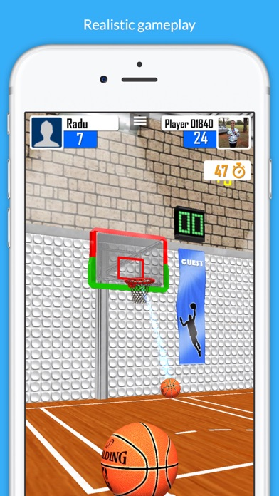 Basketball Shooter Stars screenshot 5