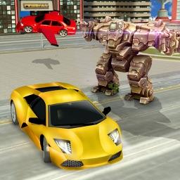 Sports Car War Robots: Iron Kill Games