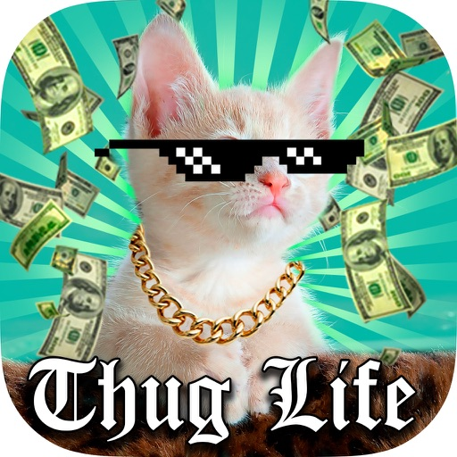 Thug Life Photo Stickers - Photo maker