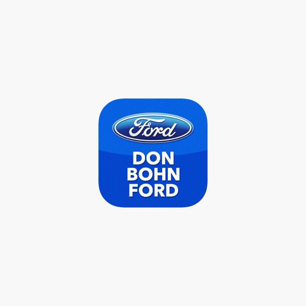 Don Bohn Ford >> Don Bohn Ford On The App Store