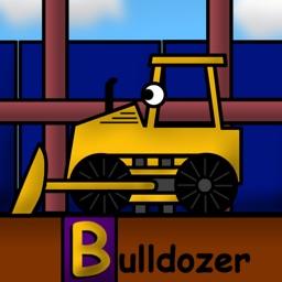 Kids Trucks: Construction Alphabet for Toddlers