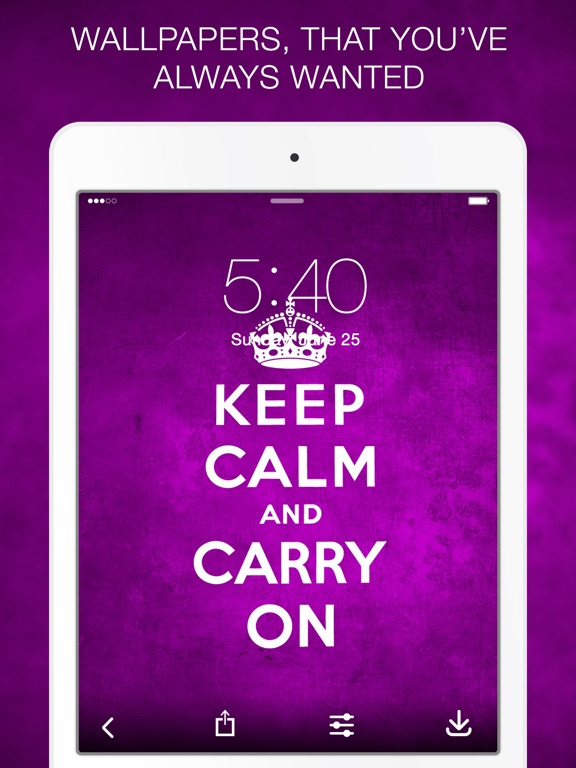 Image of: Love Screenshot 1 For Keep Calm Wallpapers Keep Calm Quotes App Sliced Keep Calm Wallpapers Keep Calm Quotes App Price Drops
